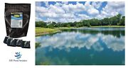 Fish Pond And Lake Dye Packs Concentrated Dry Blue Pond Dye 8 Pack Treats2 Acre