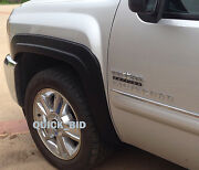 Factory Style Fender Flares For 2007-2013 Chevy Silverado 1500 Crew Cab 5.8and039 Bed