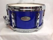 Pearl Reference 13 Diameter X 6.5 Deep Snare Drum/rhythm Blue/finish 197
