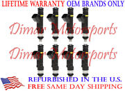 Flow Matched Genuine Bosch Fuel Injector Replacements 5.7l 300hp - Mercruiser