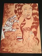 Dr. Lakra - Sin Titulo 8 - Rare Hand Signed And Numbered Original Lithograph 2009