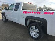 For 07-13 Silverado 1500 Factory Style Fender Flares Standard Cab And Extended Cab