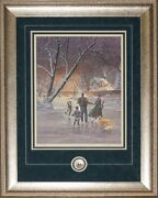 Doug Laird - Ice Dancer Print With Royal Canadian Mint Coin