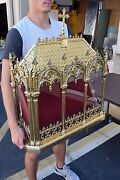 + Huge Relic Shrine + Reliquary Can Hold 100and039s Of Relics + Chalice Co. Cu178
