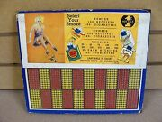 Vintage Punch Board Select Your Smoke 1 Cent Illegal Gambling Device Ships Free