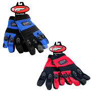 Fulmer Men's Motorcycle Gloves G1 Cool Vented Flexible Riding Grip Protection