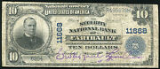 1902 10 The Security National Bank Of Faribault, Mn Charter 11668