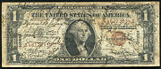 1935-a 1 Hawaii Silver Certificate Wwii Short Snorter 50+ Signatures