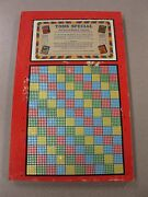 Vintage Punch Board Toms Special .10 Cigarette Gambling Device 61628 Boxpb-16