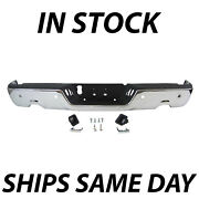 Complete Steel Chrome Step Bumper Assembly For 2009-2018 Dodge Ram 1500 W/ Park