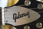 Flying V Truss Rod Cover Name Plate For Gibson Guitar Silver