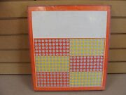 Vintage Punch Board Unbranded Gambling Device Boxpb-19 Kh Lot Of 2