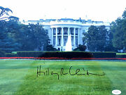 Hillary Clinton Signed White House 42nd First Lady 11x14 Photo Jsa