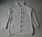 Zara Knit Clothing Womens 100 Acrylic Made In Italy Size Large