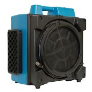 Xpower X-3380 Pro Clean Filter Purifier 4 Stage Filtration System Air Scrubber