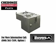 Buyers Products Smr30vess, 30-gallon Ss Hydraulic Reservoir W/valve Enclosure