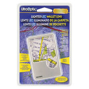 Led Lighted Wallet Card Magnifier Maps Ingredients 2x 6x Free Us Post Ultraoptix