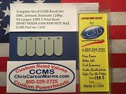 Ccms Omc Johnson Evinrude Sport Outboard Reed Reeds 120hp 1985 V4 5 Petal Pn145s