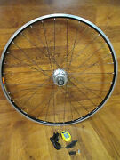 Cycleops Power Tap Mavic Open Pro 32h 8 9 10 Speed Shimano Clincher Wheel And Head