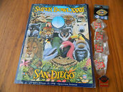 Superbowl Xxxii Official Coca-cola Pins And Program January 1998