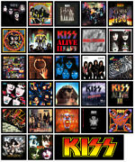 Kiss Multi Pack Of 27 Album Cover Refrigerator Magnet Set Lot Full Discography