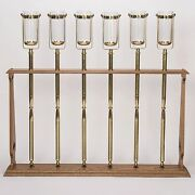 6 Processional Torches-acolyte Candlesticks-sanctuary Lamps + Chalice Co. + 311