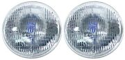 Repro Ford Headlights Concours Mustang 1967 1968 67 68 Gt A Halogen Sealed Beam