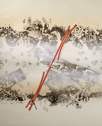 Bruce Bleach Linear Dance I Hand Signed Numbered Art Etching Matted Make Offer