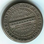 Germany,1940dictates Of Versailles Are Deleted Armistice Rr Car, 50mm, Iron,