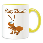 Personalised Gift Ant Mug Money Box Cup Animal Insect Design Theme Ground Earth