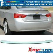 Fits 14-19 Chevy Impala 4dr 10th Gen Oe Style Trunk Spoiler - Oem Painted Color