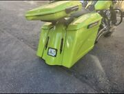 09-13 4 Stretched Saddlebags Replacement Fender No Lids/exhaust Harley Davidson