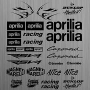 Aprilia Rsv4 Sticker Decal Motorcycle Racing Tuning 26 Pieces
