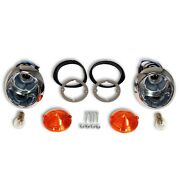 1964 1965 1966 Mustang Gt Coupe Convertible Fastback Parking Lights Lamps Kit