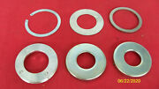 63--68 Triumph Front Axle Spacers Grease Retainers Washer Rebuild Kit Uk Made