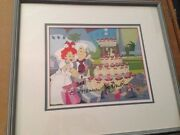 Hanna Barbera Bam Bam And Pebbles Proudction Cell And Production Background