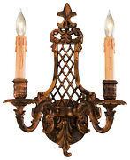 Metropolitan Lighting N9813-2 2-light Candle-style Wall Sconce - Oxide Brass