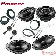 Car Stereo Front And Rear 6 Speakers Kit For Pioneer Fiat Grande Punto Evo With