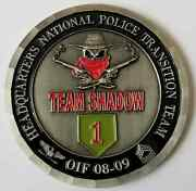 Us Army Big Red 1 Team Shadow Hq National Military Police Transition Team Oif