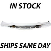 New Chrome - Steel Front Bumper Face Bar For 2004-2012 Gmc Canyon Pickup 04-12