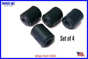 Mgb Front Lower Control Arm Bushing Set Of 4 V8 Style Bhh1123