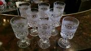 Anchor Hocking Water Goblets, Lot Of 8