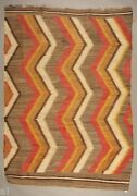 Navajo Weaving / Blanket 60 By 84 Quality Weaving / Lovely Color