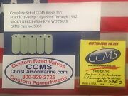 Ccms Force Sport Outboard Reed Reeds 70-90 Hp 3 Cyl Through 1992 Pn535s