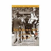 Seabiscuit An American Legend Paperback Laura Hillenbrand Free Ship Sea Biscuit