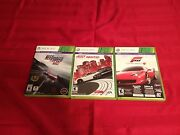 Need For Speed Rivals, Most Wanted And Forza 4- Xbox 360 L@@k