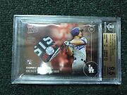 Topps Now Os-16f Corey Seager Nlds Jersey Swatch Relic /10 Roy Bgs 9.5 Rare
