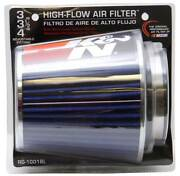 Kandn 3 To 4 Round Tapered Universal Air Intake Cone Filter Chrome Car/suv/truck