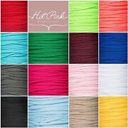 5mm Drawstring Lacing Piping Cord For Bags, Coats 20+colours Rapid Dispatch