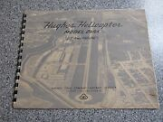 Authentic Original Hughes Helicopter Model Th-55 Osage 269a Yho-2hu Brochure